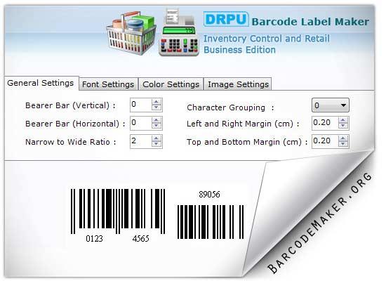 Windows 7 Inventory Barcodes Generator 7.3.0.1 full